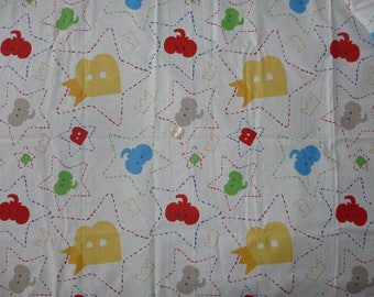 "Kids cotton fabric ""BABAR"""