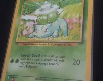 90s Bulbasaur Pokémon Card
