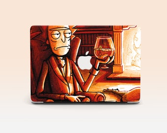 Case Rick and Morty for Macbook Macbook Pro Case Macbook Hard Case, Macbook Air Macbook Air 11 Macbook Air 13 Macbook Pro 15 Christmas Gift