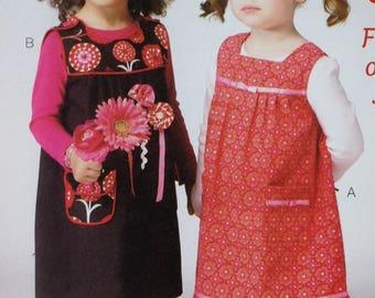 Ellie Mae Pattern K120, Toddler Jumper, Size 1-4, OOP