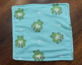 Baby Crinkle Paper - Frogs