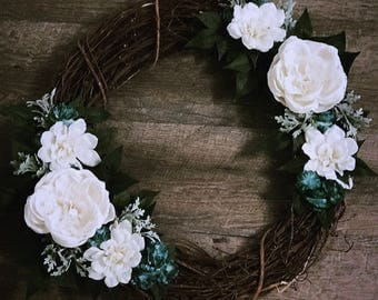Handcrafted Wreath (in Emery)
