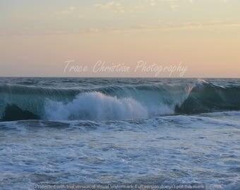 Photograph of ocean wave