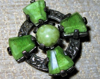 Celtic style brooch