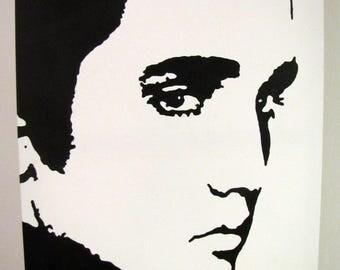 "Painting ""Elvis"" - 50x61cm"
