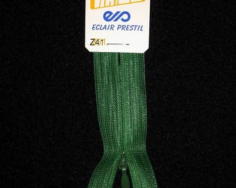 zipper invisible 60 cm not separable Z41 vivid green Emerald 721