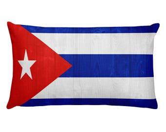Cuba design Rectangular Pillow