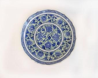 Vintage Floral Japanese Dish/ Trinket Dish