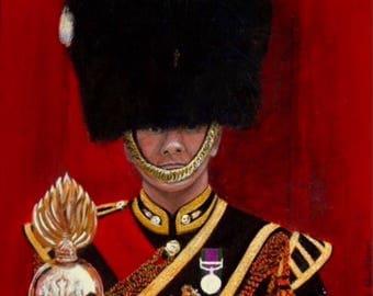 Royal Highland Fusilier Postcard