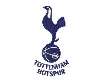 Tottenham Embroidery Design - 2 SIZES