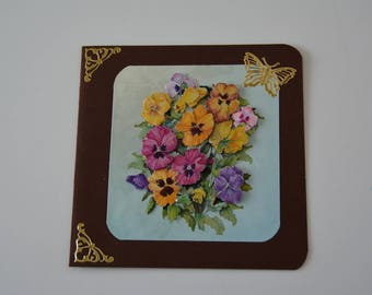 Card flowers designed in 3 sizes