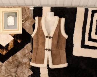 waistcoat of natural fur