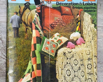 Phildar Decoration magazine & 5 (Vintage)