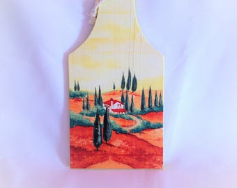 Provence decorative wooden cutting board