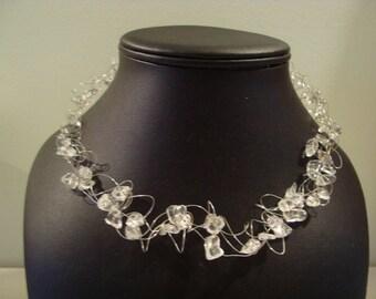 Tansparent necklace
