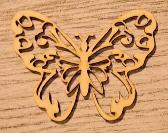 Butterfly wooden Littles 1187 embellishment