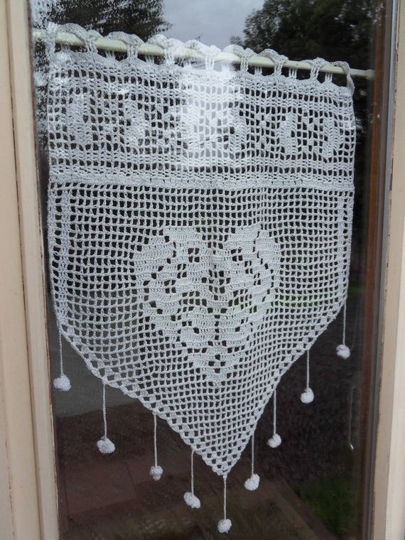 Rideau Avec Crochet. mod le gratuit rideau crochet. tuto rideau au ...