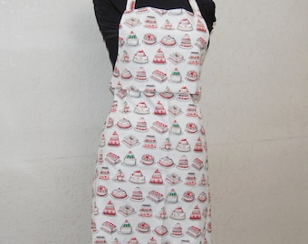 Apron pattern cakes and pastries