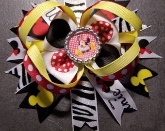 Blawesome Minnie Mouse Hair Bow