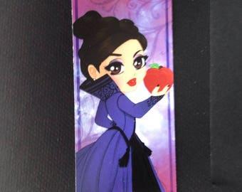 Bookmark Chibi Evil Queen / Marque Page Chibi Evil Queen