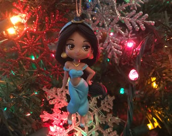 Princess Jasmine from Aladdin Holiday Christmas Ornament