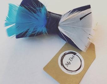 Bow tie Women Tie chocher Feather accessories Suit tie butterfly Women necklace