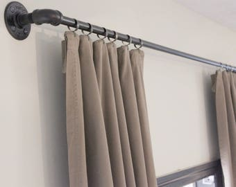 Industrial Pipe Curtain Rod
