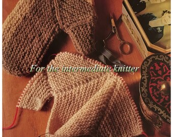 PDF Knit Sideways Mystery Mittens