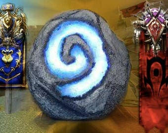 world of warcraft hearthstone 3d printed