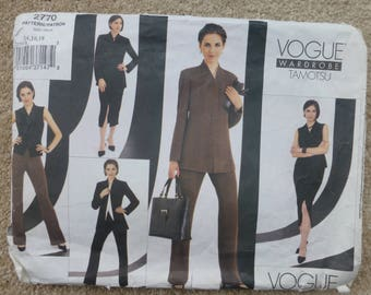 Vogue Pattern 2770 - Wardrobe Tamotsu