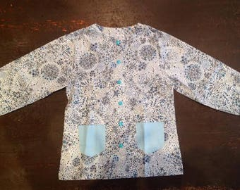 School shirt for little princess 3/4 years
