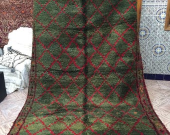 Beni M'Guild vintage  carpet,280x190cm, Moroccan carpet, wool rug, Beni M'Guild rug, vintage carpet, berber textiles, berber carpet,