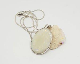 Massive Coober Pedy Solid Opal Pendant 045A