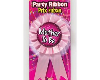 Mother to Be Ribbon Pink with Pin