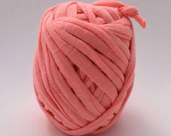 Tshirt Yarn | Cotton Yarn | Zpagetti Yarn | Trapillo | Jersey Yarn | Neon Pink
