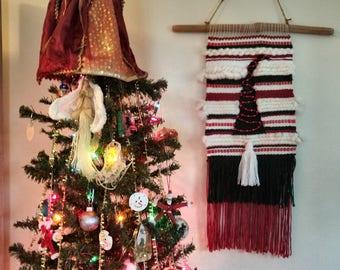 Christmas Woven Wall Hanging