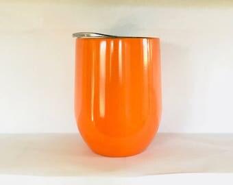 Orange 9oz Tumbler