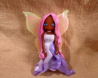 Fairy Decor, Fairy Girl Decor, Purple Fairy Decor, Kawaii Fairy, Visual Kei decor, Pastel goth decor, Pastel goth fairy, Bedroom Decor