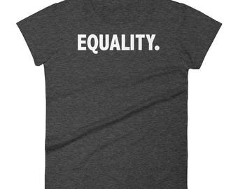 Equality T-Shirt | Peace, Love, Unity, Equal Rights. Women's Equality. Shirt, Pride And Equal Rights Shirt, Equality T-Shirt
