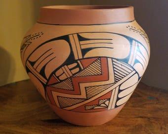 Jemez Pueblo Pottery Vessel