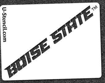 boise state etsy Printable Boise State Broncos Logo Boise State University Vintage Logo