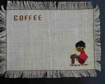 Vintage Handmade Tablecloth