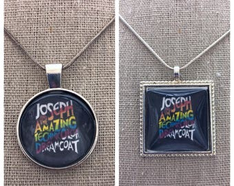 Broadway Musical Joseph and the Amazing technicolor Dreamcoat pendant jewelry /keepsake /keychain.Broadway play