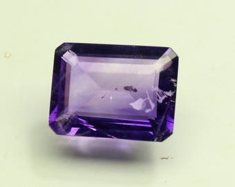 Huge  Natural Amazing AAA Purple African Amethyst Size 12x16 mm faceted Octagon 1 PC CODE :- AQ51