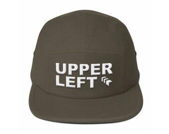 Upper Left Camper Cap