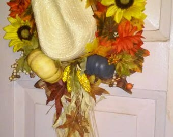 Thanksgiving/ Fall Door hanger