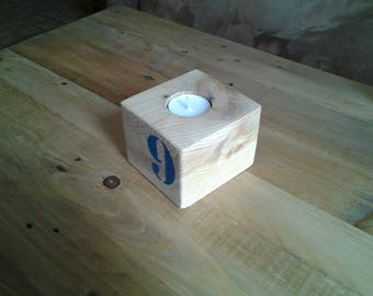 1 tealight candle holder