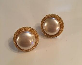 80's Napier screw back earrings