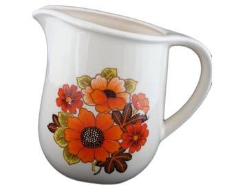 Lovely retro floral jug