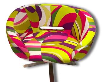 Pucci Modern Swivel Chair